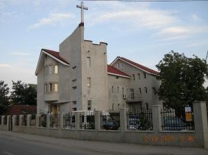Noua cladire a bisericii